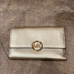 Gold Michael Kors Wallet BRAND NEW